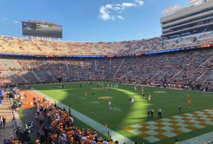 Neyland Stadium before the BYU game